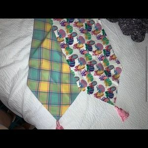 Reversible Cotton Table Runner Plaid Gifts Sunny